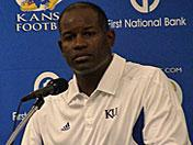 Gill talks after McNeese State victory