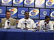 Legends of the Phog press conference