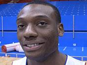 Tharpe talks about three-guard rotation, more