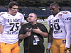 Kalil, Campbell and Smith  game highlights AA Bowl