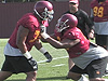 USC Defensive Line Drills