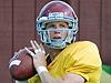 USC quarterback drills 8/14/08