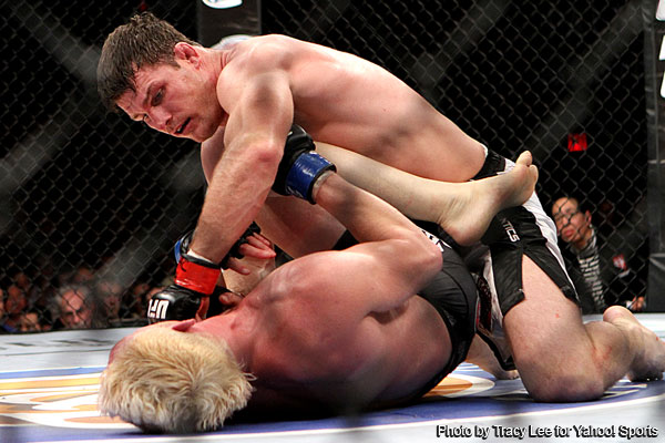 Jason Miller gasses early, Michael Bisping abuses the TV star to win main event at 'TUF 14 Finale'