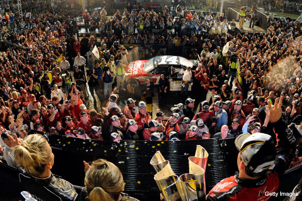 Was this the finest race in NASCAR history?