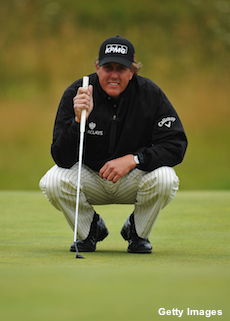 Phil Mickelson misses out on golden opportunity in Round 1
