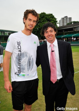McIlroy turns back on Nadal, is rooting for Murray at Wimbledon