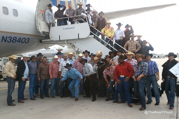 Mount up, cowboys: Morgan, Brewers take off in Western wear