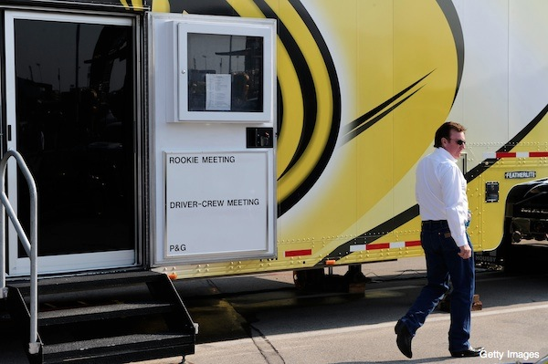 Richard Childress faces discipline after punching Kyle Busch