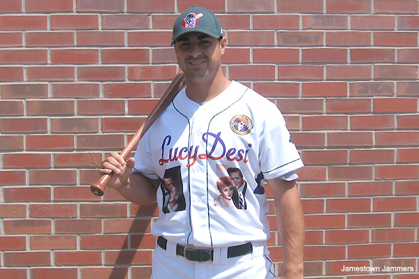 'I Love Lucy' jerseys turn heads at minor league game