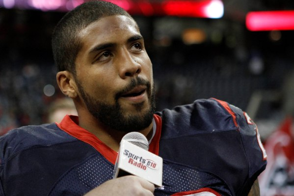 Flames: Arian Foster 'Ready to Rumble!!!' against Steelers