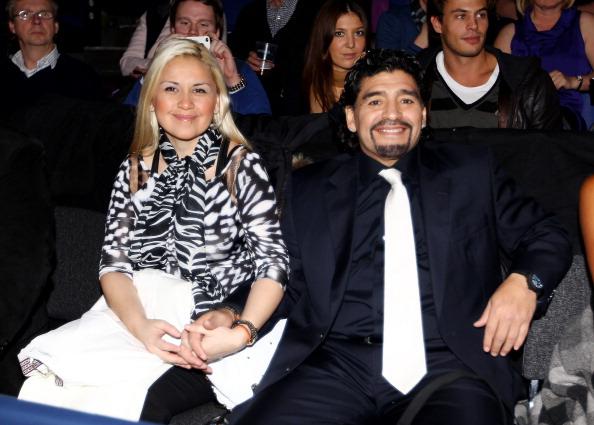 Maradona reportedly crashed his car into a bus