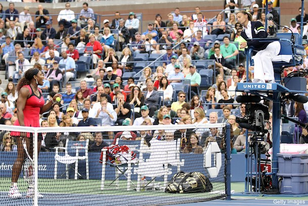 She did it again: Serena Williams blows up in U.S. Open loss
