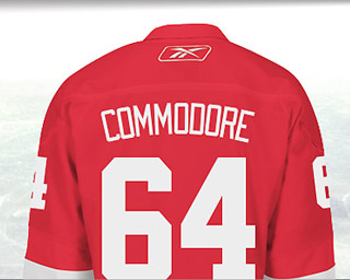 Mike Commodore 64: Red Wings give blessing, pledges surging