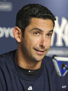 Jorge Posada says he could play for another team in 2012