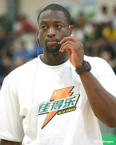 Will Dwyane Wade sign with a team in China?