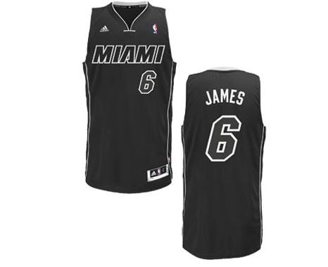 The Miami Heat debut their new, darker, alternate jerseys