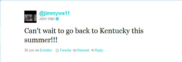 Coach Cal extends an invitation to ex-UK players to work out in Kentucky