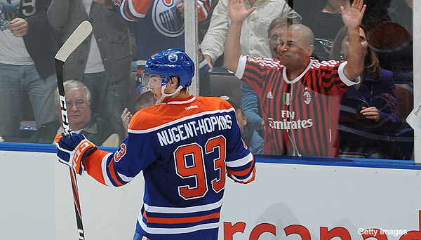 Sunday's Three Stars: Nugent-Hopkins' 1st; Habs spoil Jets