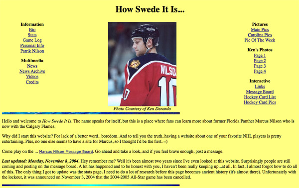 The 7 neglected NHL fan pages we absolutely adore