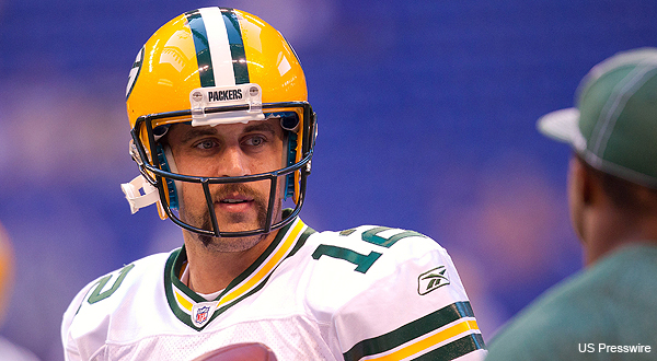 Aaron Rodgers' mustache gives him a new level of public exposure