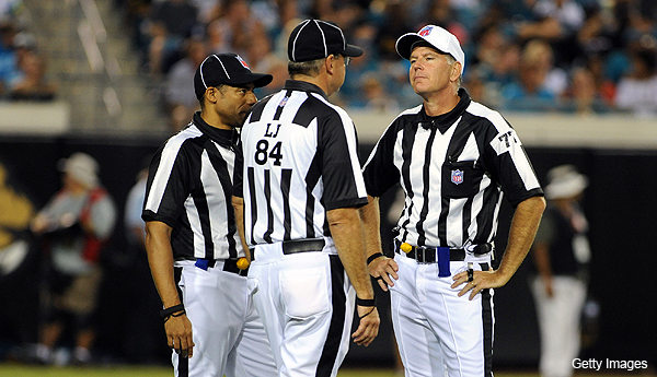 Adventures in Officiating: Suh ejection doesn't take McAulay's crew off the hook