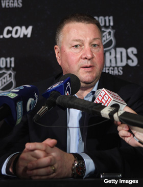 Mike Gillis, on Luongo-for-Vinny news editorial: 'I don't like it'