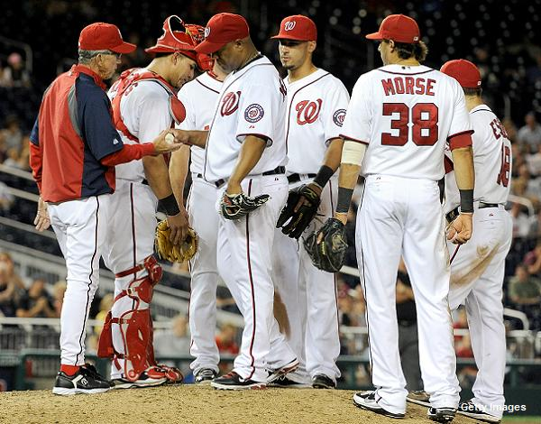 Out of rotation, Livan Hernandez accepts new roles with Nationals