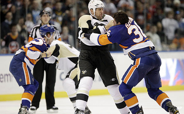 In defense of Islanders' viewing party of violence vs. Penguins