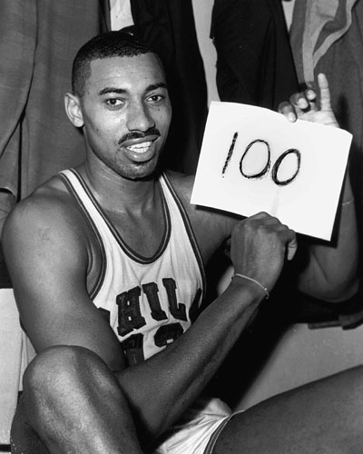 Should Wilt Chamberlain get his own U.S. postage stamp?