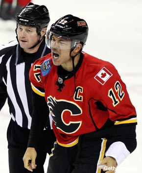 Will Jarome Iginla get traded? That's entirely up to him