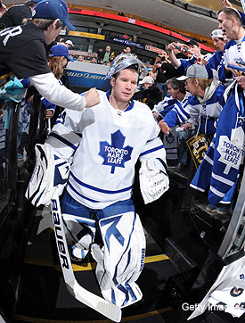 Leafs ink James Reimer to three-year, $5.4 million extension