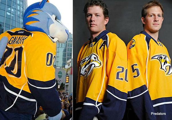Pass or Fail: Nashville Predators' golden new home sweaters