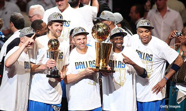 Mavs down the Heat, take home their first NBA title