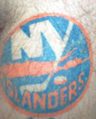 Five reasons to calm down about tattoos at Islanders games