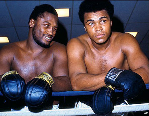 Former heavyweight champ Joe Frazier deathly ill with liver cancer