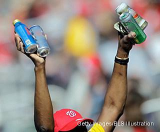 Ballpark hero: Nationals Park beer vendor saves choking child