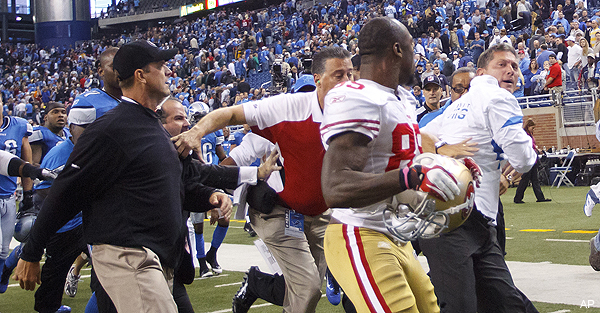 Jim Schwartz would also like to know what Jim Harbaugh's deal is