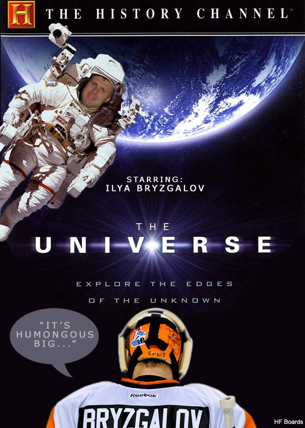 Sunday Comics: Ilya Bryzgalov, space cadet edition