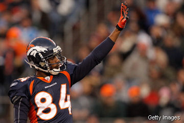 The Broncos are going to trade Brandon Lloyd to the Rams