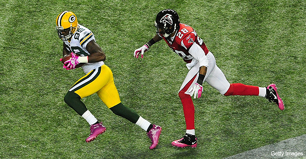 Packers peeved about Falcons' late hits, flops