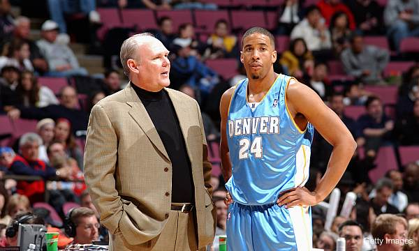 Andre Miller and George Karl didn't speak for several years
