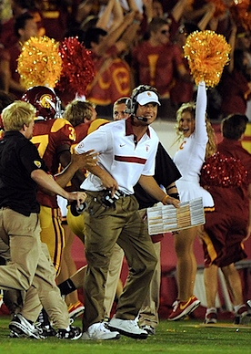 How USC tacked on one last touchdown, two hours after the final gun