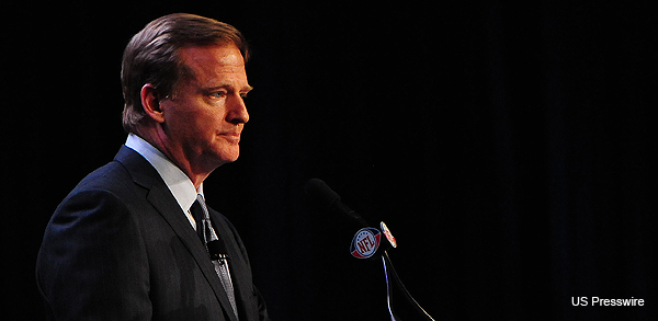 Don't worry, fans – Goodell says that the lockout is for your own good!