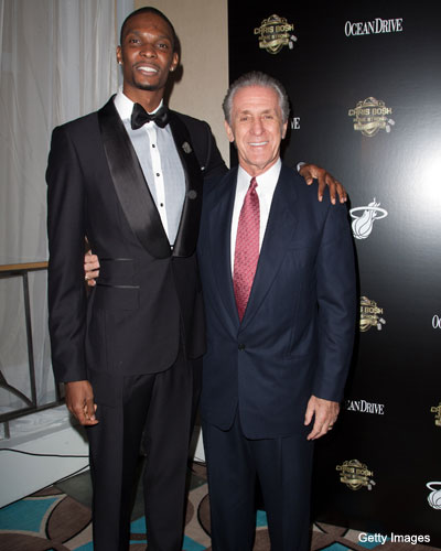 The NBA is letting the Miami Heat attend Chris Bosh's wedding