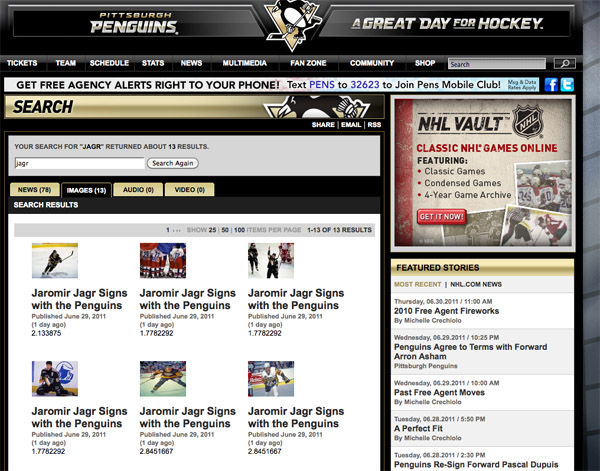 Jagr Watch: Penguin again or flirting with more teams?