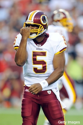 Why doesn't Donovan McNabb wear play-calling wristbands?