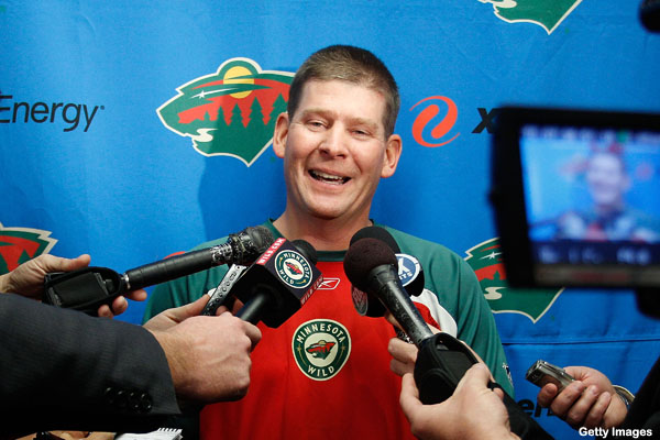 Minnesota Wild sign 51-year-old backup; don't play him, unfortunately