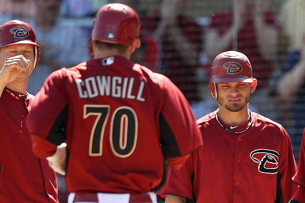 Prospecting: Arizona's Collin Cowgill still raking, running