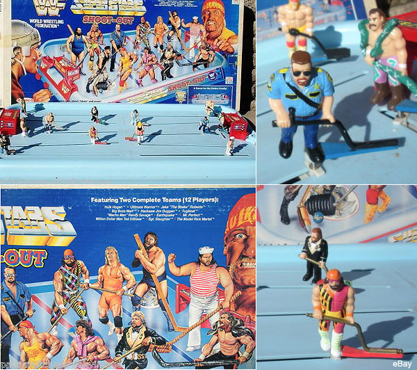 The greatest NHL/WWF item ever? Superstars Table Top Hockey