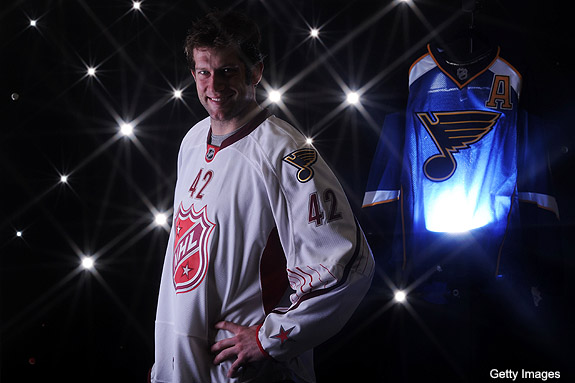 Puck Daddy chats with David Backes about hypocrisy on head shots, Shanahan videos, NHL All-Star Draft and Blues captaincy